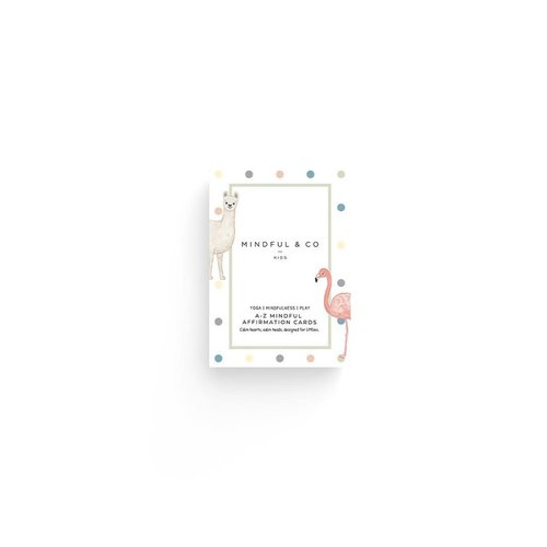 A-Z Mindful Affirmation Cards