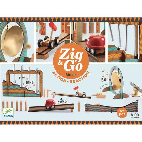 Djeco Zig & Go 52pc Music Set