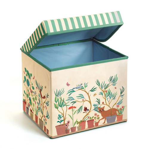 Djeco Garden Seat Toy Box
