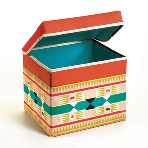 Djeco Teepee Seat Toy Box
