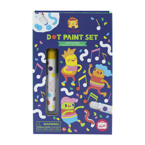 Tiger Tribe Dot Paint Set - Party Time