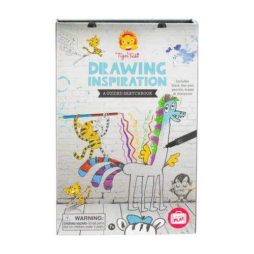 Tiger Tribe Drawing Inspiration - A Guided Sketchbook