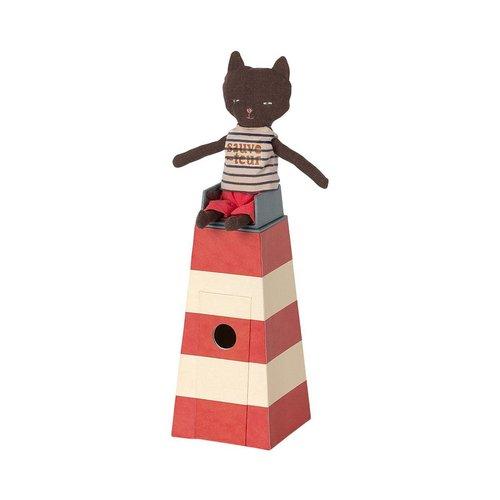 Maileg Lifeguard Tower With Cat