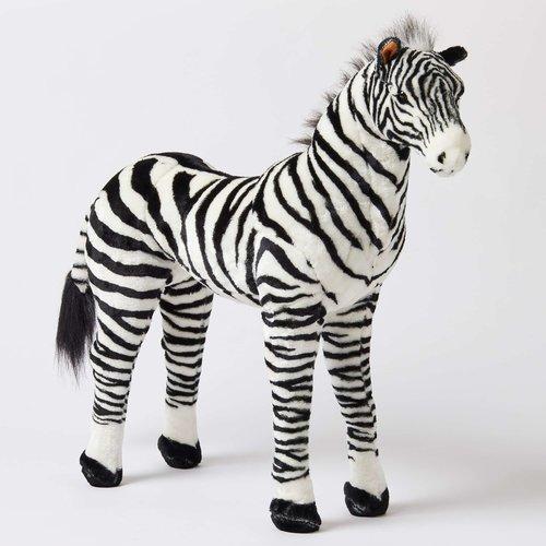Jiggle & Giggle Large Standing Zebra 76cm