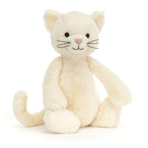 Jellycat Jellycat Bashful Cream Kitten Medium