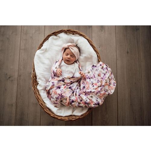 Snuggle Hunny Blushing Beauty | Organic Muslin Wrap