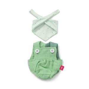 Miniland Miniland Clothing Forest Overalls And Headscarf (21 cm Doll)