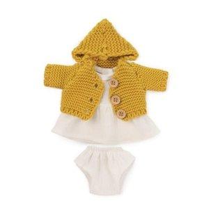 Miniland Miniland Clothing Sea dress and jacket set (21 cm Doll)
