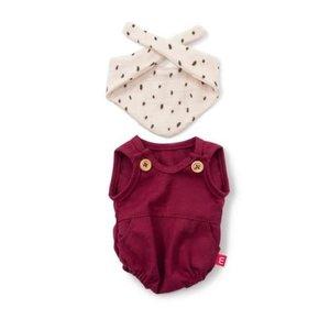 Miniland Miniland Clothing Sand Romper and Bib Set, 38 cm