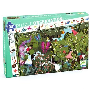Djeco Garden Play Time Observation Puzzle