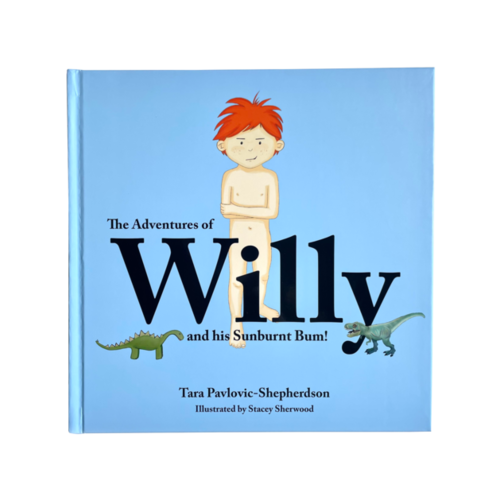 The Adventures of Willy and his Sunburnt Bum!