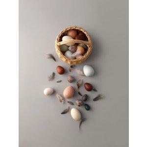 Moon Picnic A Dozen Bird Eggs In A Basket