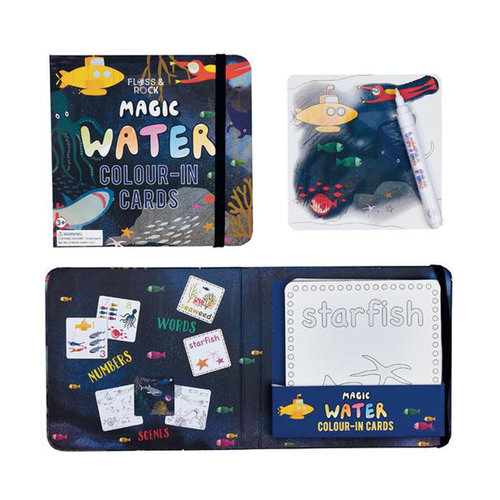 Floss & Rock Magic Water Colouring – Space