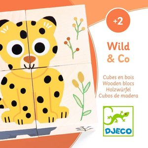 Wild & Co Wooden Puzzle