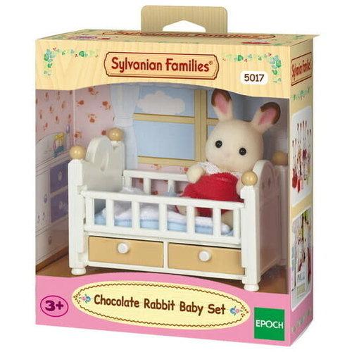 Sylvanian Families Sylvanian Families Choc Rabbit Baby Set