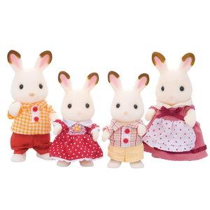 Sylvanian Families Sylvanian Families Chocolate Rabbit Family