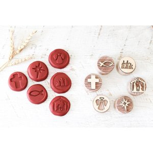 Let Them Play Wooden Stampers - Christmas Nativity