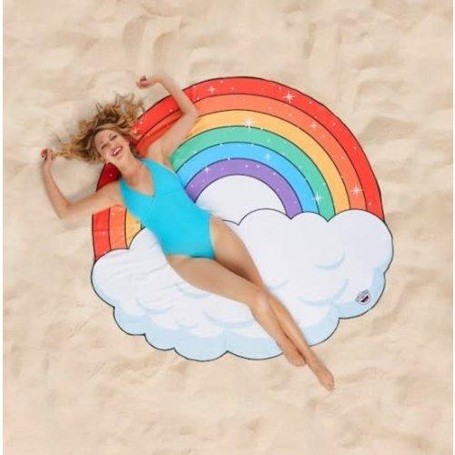 Bigmouth Gigantic Rainbow Beach Blanket