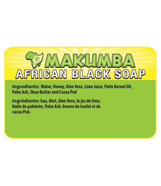 Makumba MBMB Blk Soap Round 200g