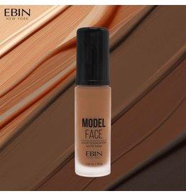 Ebin Model Face Liquid Foundation - Milk Chocolate