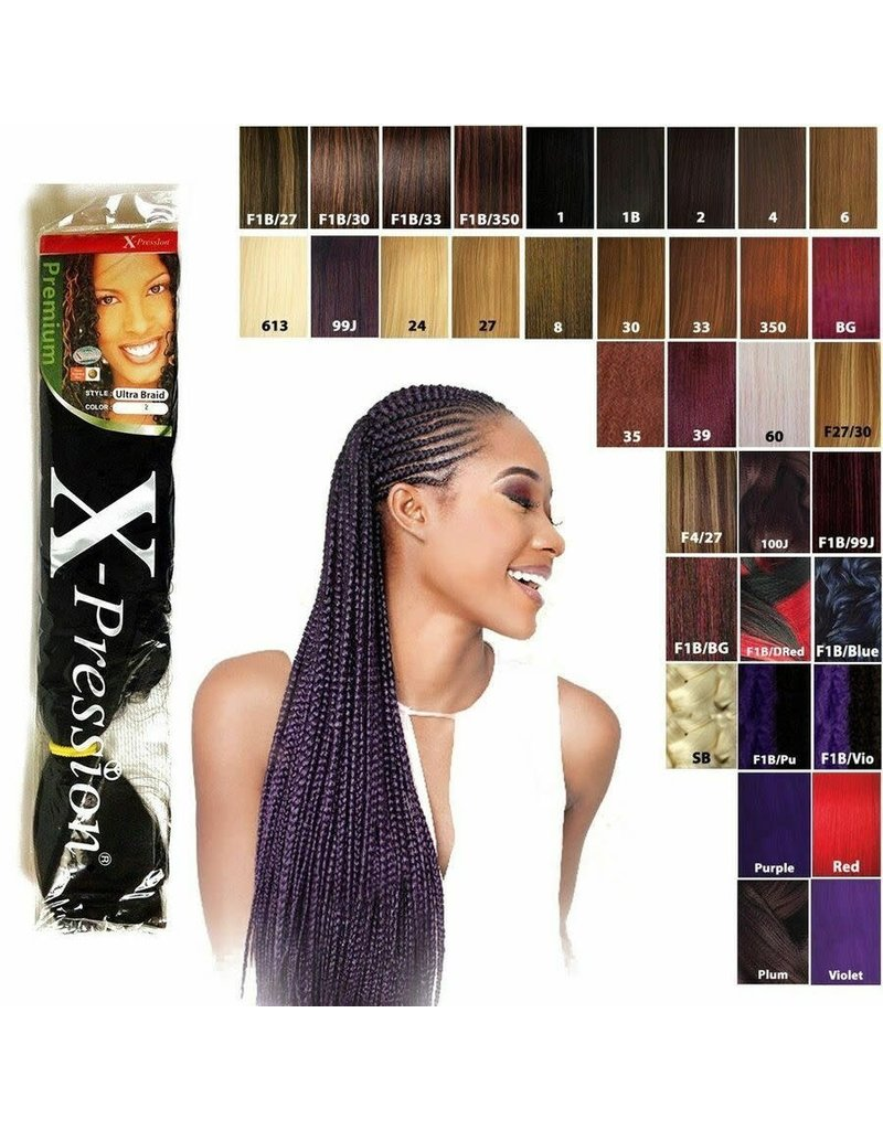 X-pression X-Pression Ultra Braid