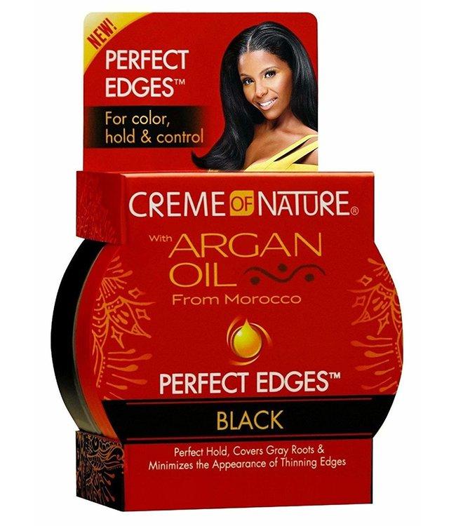 Creme Of Nature Argan Oil Perfect Edges Black 2.5oz
