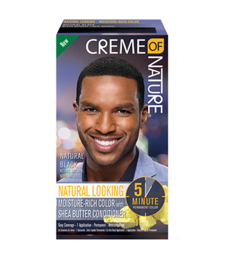 Creme Of Nature Con Men H/Clr Nat Black