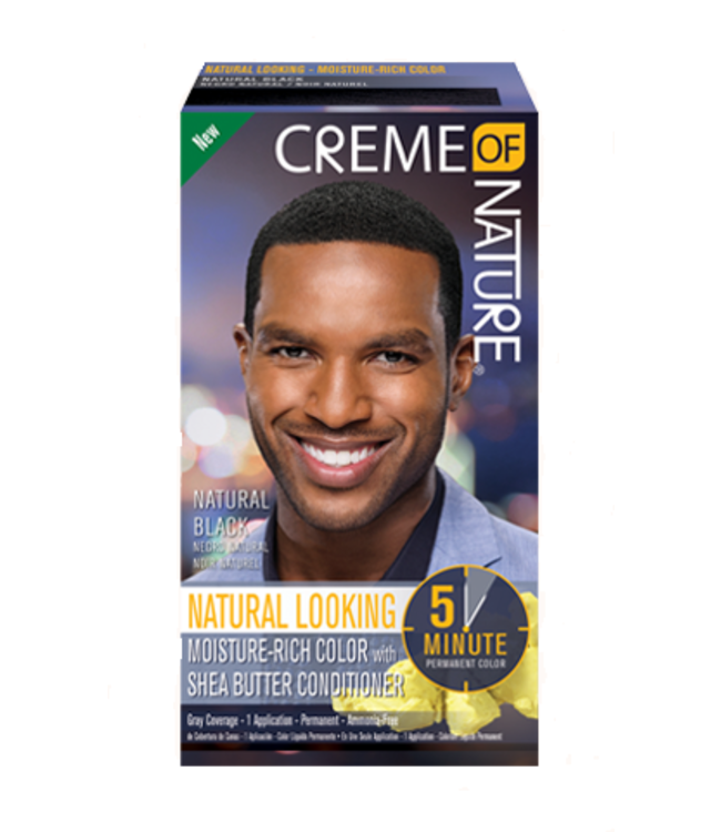 Creme Of Nature Con Men H/Clr Nat Black