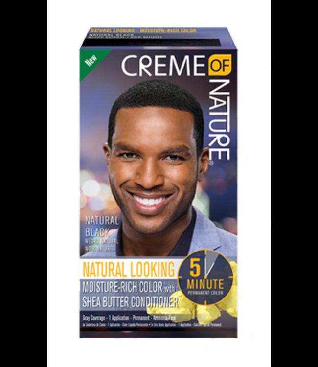 Creme Of Nature Hair color for men - Natural Black