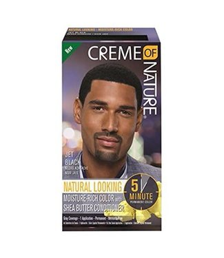 Creme Of Nature Hair color for men - Natural Jet Black