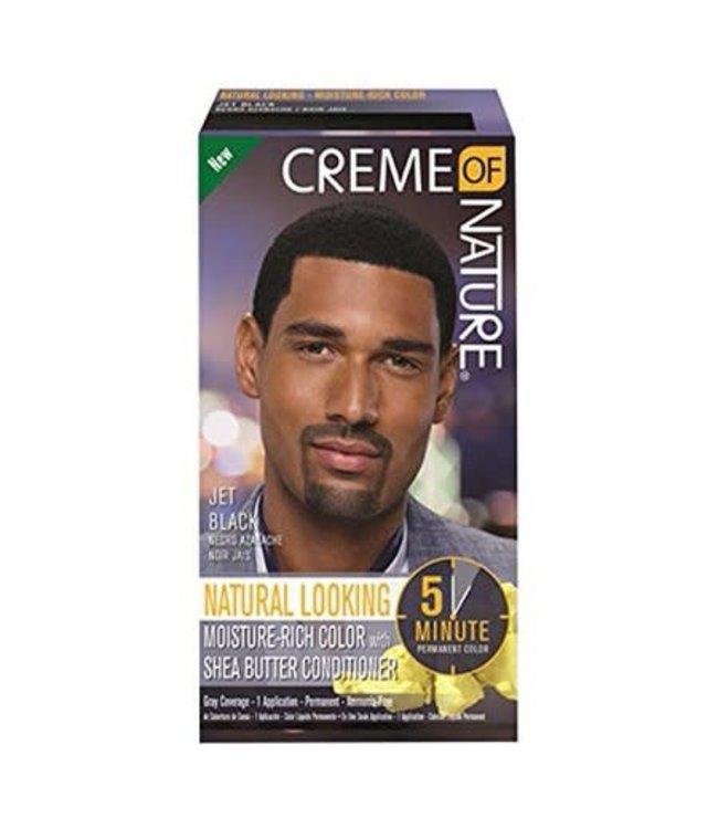 Creme Of Nature Hair color for men - Natural Jet Black