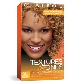 Clairol Textures &Tones Hair Color - Honey Blonde #6G