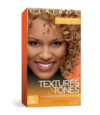 Clairol Textures & Tones Hair Color - Honey Blonde #6G