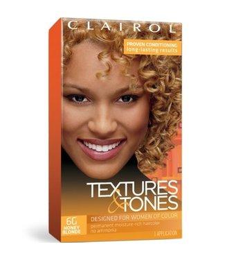 Clairol Textures & Tones Hair Color - Honey Blonde #6G