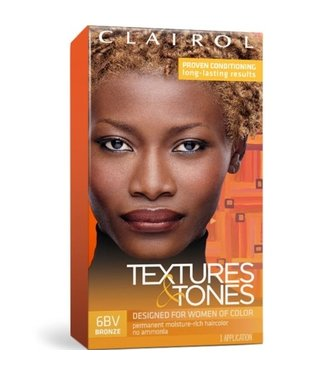 Clairol Textures & Tones Hair Color - Bronze #6BV