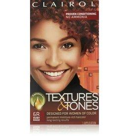 Clairol Textures &Tones Hair Color - Ruby Rage #6R