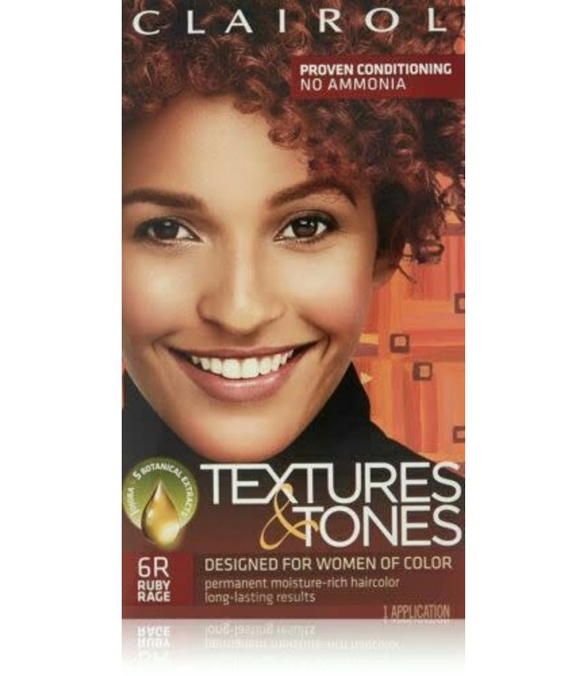 Clairol Textures & Tones Hair Color - Ruby Rage #6R