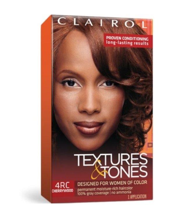 Clairol Textures & Tones Hair Color - Cherrywood #4RC