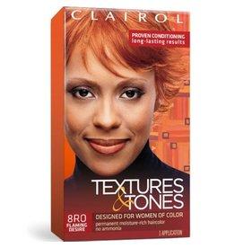 Clairol Textures &Tones Hair Color - Flaming Desire #8RO