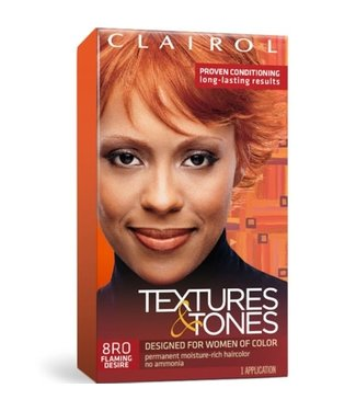 Clairol Textures & Tones Hair Color - Flaming Desire #8RO