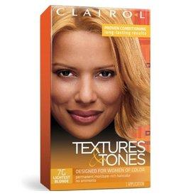 Clairol Textures &Tones Hair Color - Lightest Blonde #7G