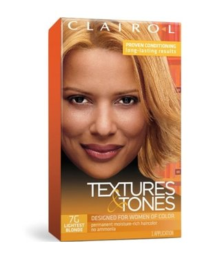 Clairol Textures & Tones Hair Color - Lightest Blonde #7G