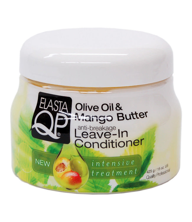 Elasta QP Olive & Mango Butter - Leave-in Conditioner (anti-breakage)