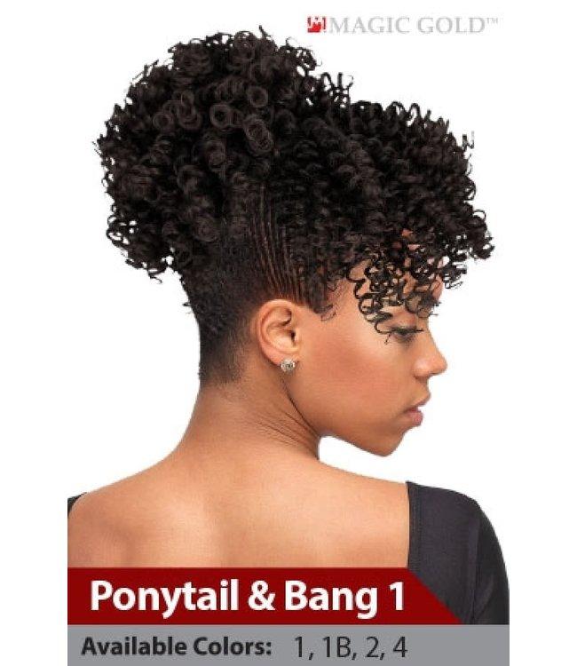 Magic Up Ponytail Bang
