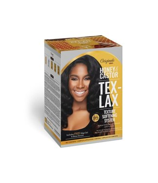 Originals by Africa's Best AB Honey & Castor Tex-Lax Texture Softening System