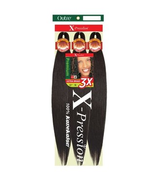 X-pression X-Pression Pre-Stretched Ultra Braid 3x - 42""