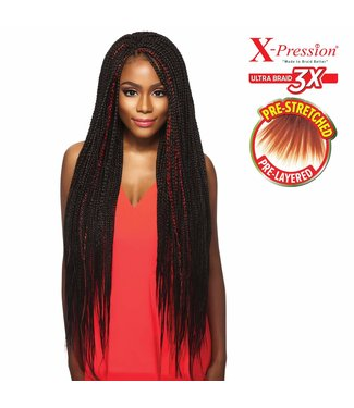 X-pression X-Pression Pre-Stretched Ultra Braid 3x - 52""