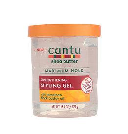 Cantu Maximum Hold Strengthening Styling Gel w/Jamaican Black Castor Oil