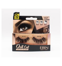 Ebin Doll Cat 3D Lashes - Doll Cat Ashlyn