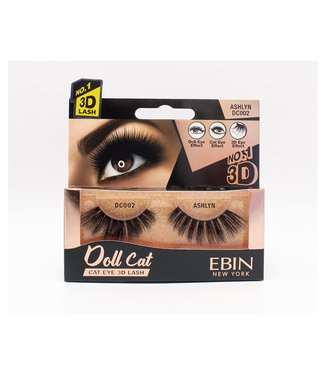 Ebin Doll Cat 3D Lashes - Doll Cat Ashlyn